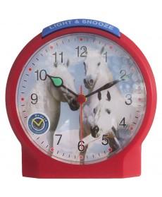 Atlanta Pferde-Wecker Quarz schleichende Sekunde Lichtfunktion